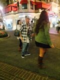 Ieber with fans October 2014