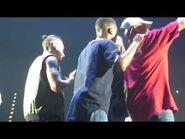 Justin Bieber Beat Boxing And Rapping - Purpose Tour - Birmingham - 17-10-16