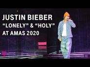 """Justin Bieber – """"Lonely"""" (with benny blanco) & """"Holy"""" LIVE Performance - AMAs 2020 - T-Mobile"""