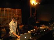 Justin Bieber and Kanye West 2011