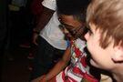 Lil Twist and Justin Bieber July 2011