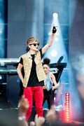 Bieber at MTV World Stage Live in Malaysia