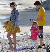 Justin Bieber & Selena Gomez in Malibu 2012