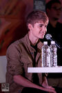 Justin Bieber press conference Mexico October 2011