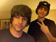 Ryan Good and Justin Bieber