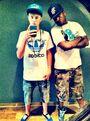 Justin Bieber and Trav