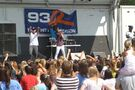 Justin singing at Family Frenzy '09 in Syracuse