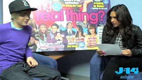 Kristinia Debarge Interviews Justin Bieber Part 2!