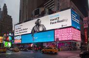 Hard 2 Face Reality billboard