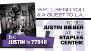 Justin Bieber Zoom Media Campaign
