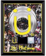 Where Are Ü Now 2x platinum