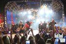 Bieber jumping MuchMusic Video Awards 2010