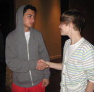 Julkeyz and Justin Bieber 2010