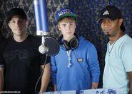 Josh Gudwin, Justin Bieber and Kuk Harrell