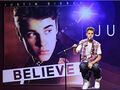 Justin Bieber charms at his press conference