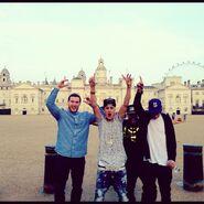 Justin enjoying life