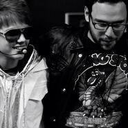 My World Tour Justin Bieber with Scooter Braun