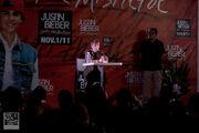 Justin press conference October 2011