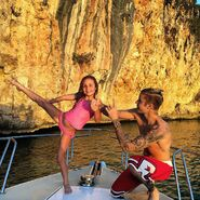 Jazzy and Justin Bieber 2016