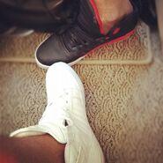 Justin and Ryan Supra shoes