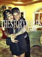 Justin Bieber hugging Selena Gomez