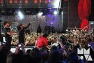 Bieber with dancers MuchMusic Video Awards 2010
