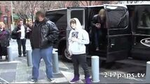 Justin Bieber promoting his first album My World in NYC (ThrowBack)