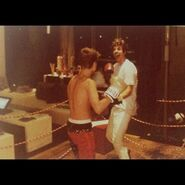 Justin Bieber boxing with Ryan Good