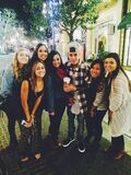 Justin Bieber with fans October 2014