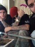 Justin Bieber with Ryan Butler and John Shahidi