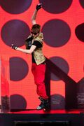 JB performing at MTV World Stage Live in Malaysia 2012