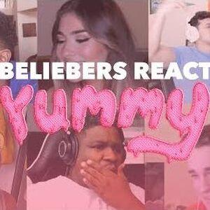 Justin Bieber - Yummy (Beliebers React)