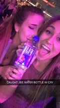 Fan with Justin's water bottle March 23, 2016