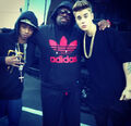 Justin Bieber with Cee-Lo