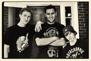 Asher Roth, Scooter Braun and Justin Bieber