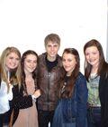 Fan meets Justin Bieber March 2011