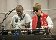 Justin Bieber as a DJ