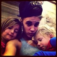 Justin with Jaxo and Jazzy