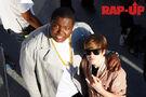 Sean Kingston with Justin Bieber 2010