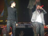 Justin Bieber with Sean Kingston December 2010