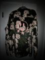 Velvet LS Shirt - Iceberg Roses