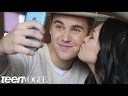 Justin Bieber Meets Two Inspiring (and Adorable) Super Fans - Teen Vogue