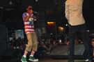 Lil Twist and Bieber on stage