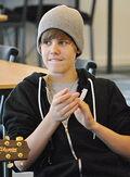 Justin Bieber in New Zealand 2010