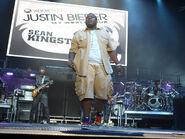 Sean Kingston on the My World Tour
