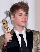 Billboard Music Awards Justin and his award