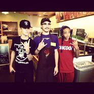 Taylor gang Justin and Jaden