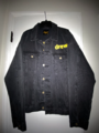 Chenille mascot patch trucker jacket