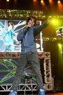 Justin performing at Z103.5 Summer Rush 2009
