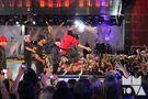 Justin jumping MuchMusic Video Awards June 2010